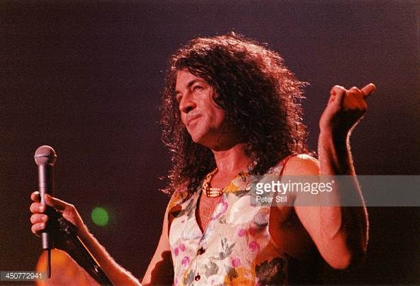 Ian Gillan of Deep Purple performs on stage at Brixton Academy on November 8th 1993 in London England