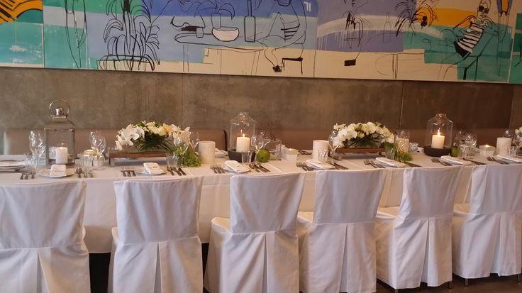 Main wedding table