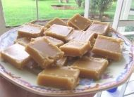 Foolproof South African Fudge recipeIngredients  1,5 kg's Sugar  45 ml Syrup (Golden Corn Syrup - the one I use is quite thick)  1 x 397 gm tin Condensed Milk  1 x tin Water (refill the empty Condensed Milk tin with water to measure)  100 gm Margarine  1 1/2 tsp Vanilla Essence  1 1/2 tsp Cream of Tartare  250 ml Flour (or 125 ml Flour & 125 ml Cocoa Powder for Chocolate Fudge)