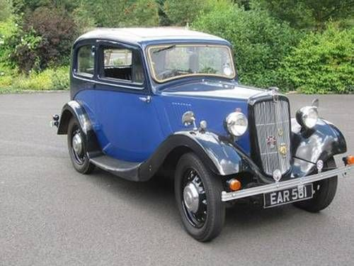 1938 Morris 8 Series II
