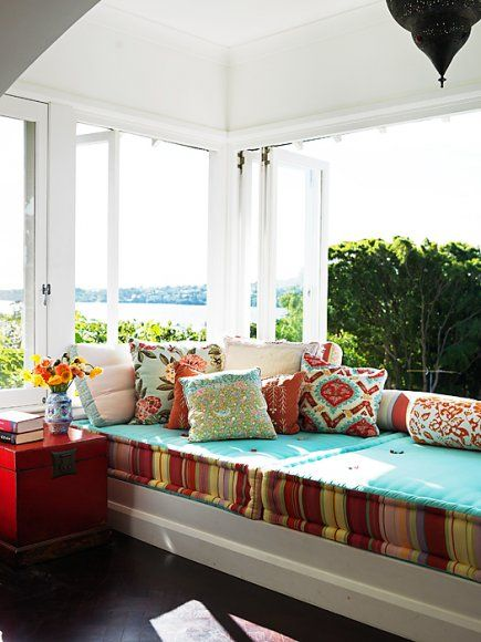 beautiful window seat chris court photography - Beautiful Window Seats