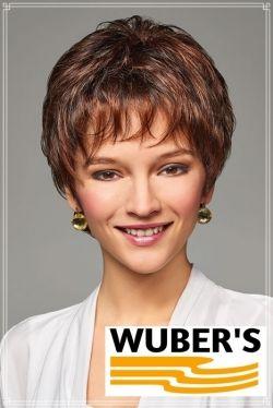 Parrucca Wuber's anche per chemioterapia capelli  in fibra parte alta lavorata a mano monofilamento +  attaccatura  frontale lace invisibile  modello Jolanda