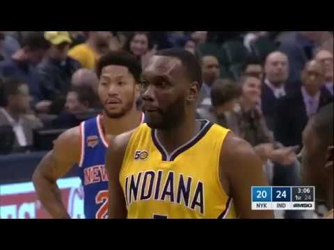 New York Knicks Indiana Pacers Full Game Replay Jan 7 2017