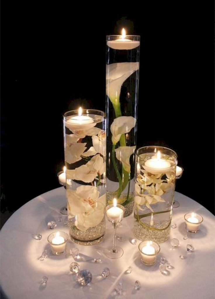 45 Winter Floating Centerpieces Ideas For Your Wedding