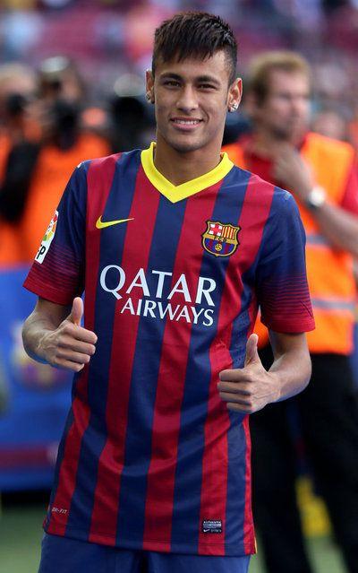 Visca Barca - Espero que Neymar dé la talla y que junto a Messi metan 40 goles cada uno en la Liga!