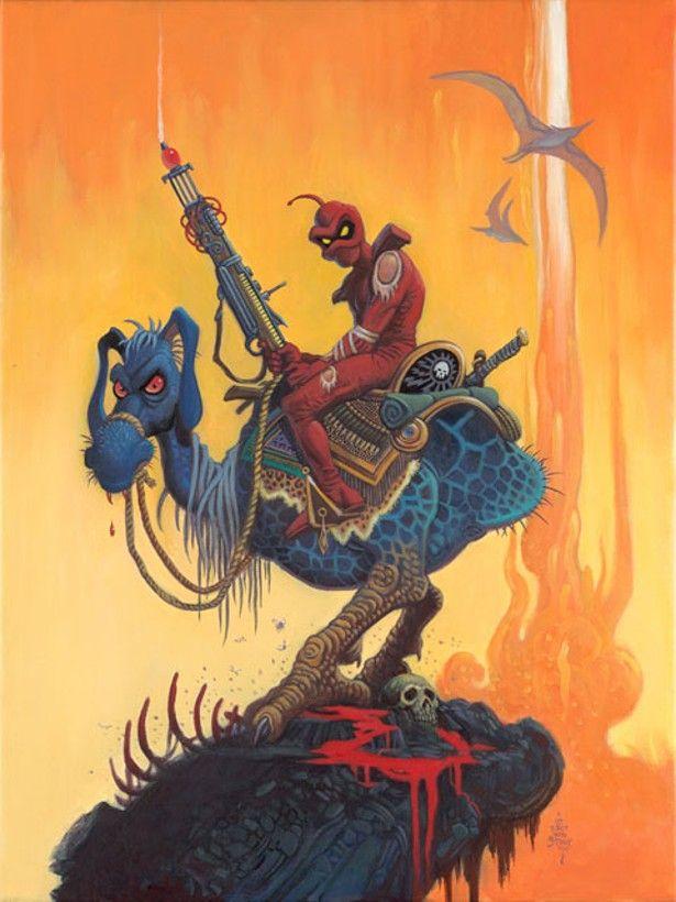 Cap'n's Comics: Cobalt 60 by Vaughn Bode.