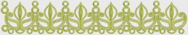 Golden Kasab draad geborduurde kant grens