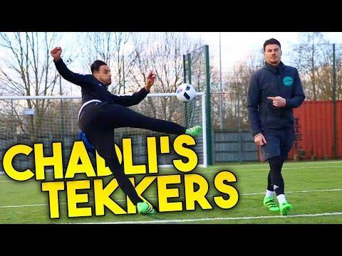 Nacer Chadli shows F2Freestylers his Tekkers!