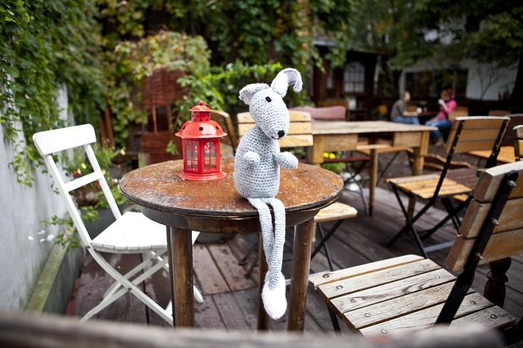 Crochet toy feeling lonely