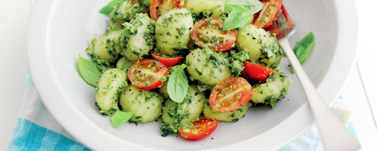 My summer lunch menu just got a yummy make over > Gnocchi with Hass Avocado Pesto #AvosFromPeru