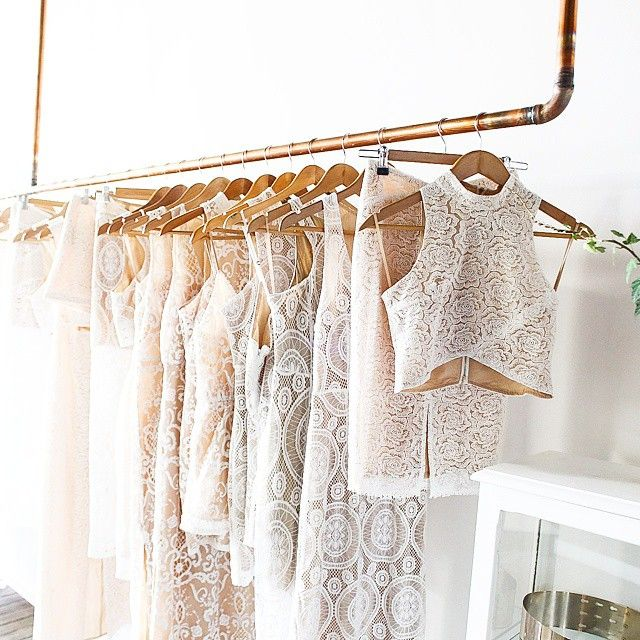 Can you tell that we love white lace?