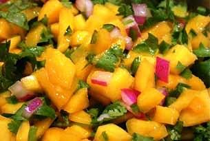 Easy Mango Salsa Recipe. Just made, ssoo good, the jalapeno gives it a surprisingly pleasant kick
