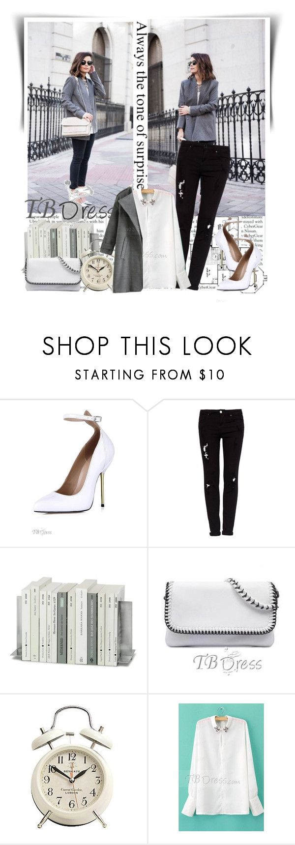 """""""TB Dress"""" by dalila-mujic ❤ liked on Polyvore featuring INDIE HAIR, Melissa, Pull&Bear and tbdress"""