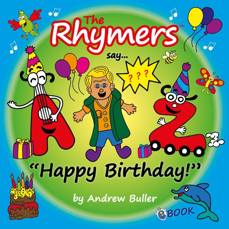 Happy Birthday Personalised Rhymers book