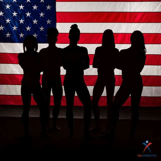 2016 Women's Rio Olympics gymnastics team! Go team USA!