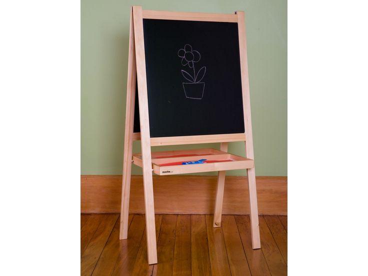 Mocka Kids Art Easel - Blackboard Side