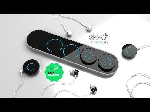 ekko - Hi-Fi, Wi-Fi audio using any headphones or speakers! -  Best sound on Amazon: http://www.amazon.com/dp/B015MQEF2K - http://gadgets.tronnixx.com/uncategorized/ekko-hi-fi-wi-fi-audio-using-any-headphones-or-speakers/