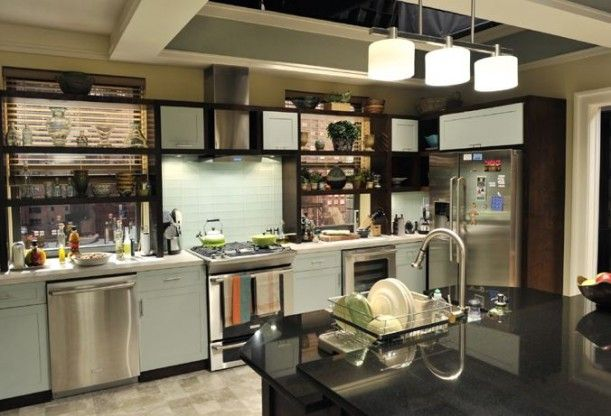 Alicia Florrick's Chicago apartment kitchen