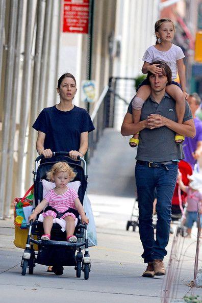 Sofia Coppola - Sofia Coppola and Family in Soho