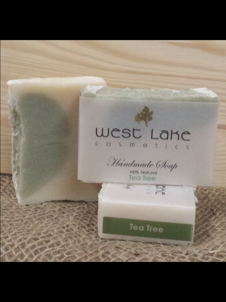 100% natural handmade soap. Made locally in beautiful downtown Parry Sound. TeaTree with French green clay.