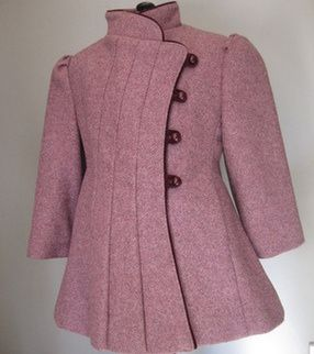 1950s wool coat for a 5-6 year old.