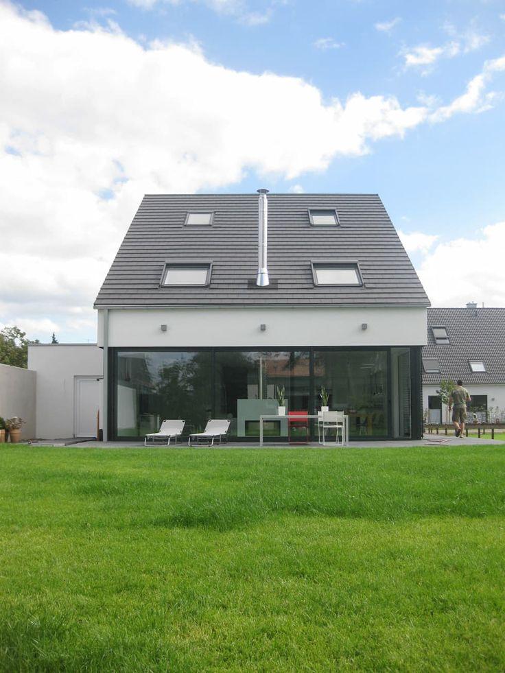 Moderne Huser Bilder Neubau Eines Einfamilienhauses Mit Garage 50999 Kln