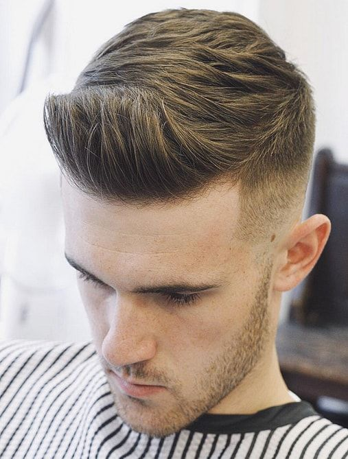 Boys Simple Faded Hair Style Men S Hairstyles Pinterest