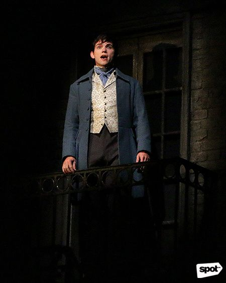 Les Miserables Marius as portrayed  by Paul Wilkins