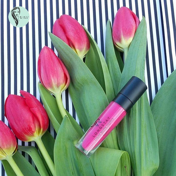 Pomadka do zadań specjalnych- Golden Rose Longstay Liquid Matte Lipstick 07