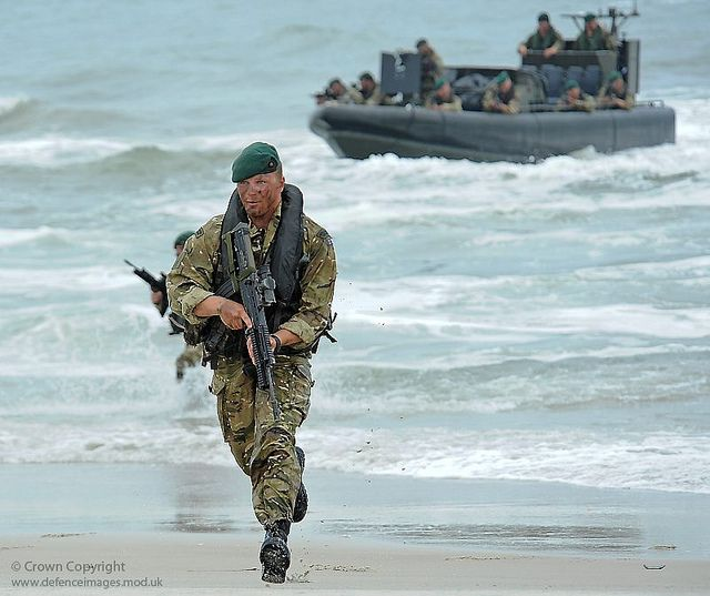 A Royal Marine Commando from Lima Company wearing Multi Terrain Pattern camouflage, is pictured during amphibious training on Exercise Auriga 10 in Virginia, USA.   Photographer: LA(Phot) David Hillhouse  From: www.defenceimages.mod.uk     This Vertical Jump system is a little known multi-part vertical jump training program that provides you with all the