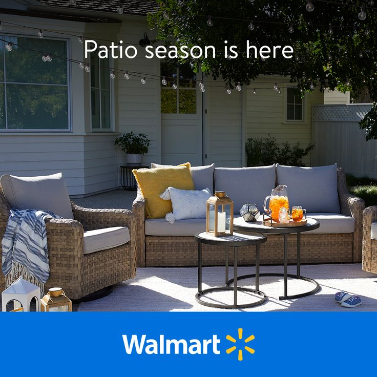 Refresh your patio