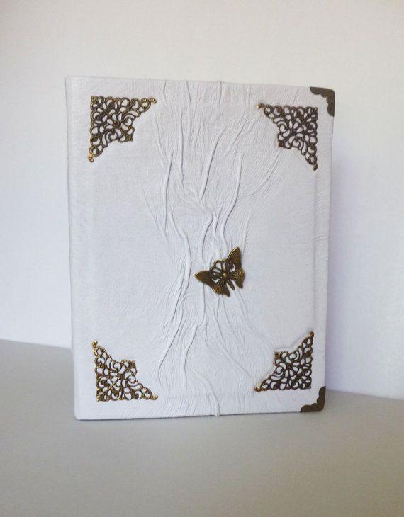 Photo album Wedding album Album for Her White by AnnaKisArt