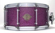 14x6.5 Spotted Gum - Purple Glass Glitter