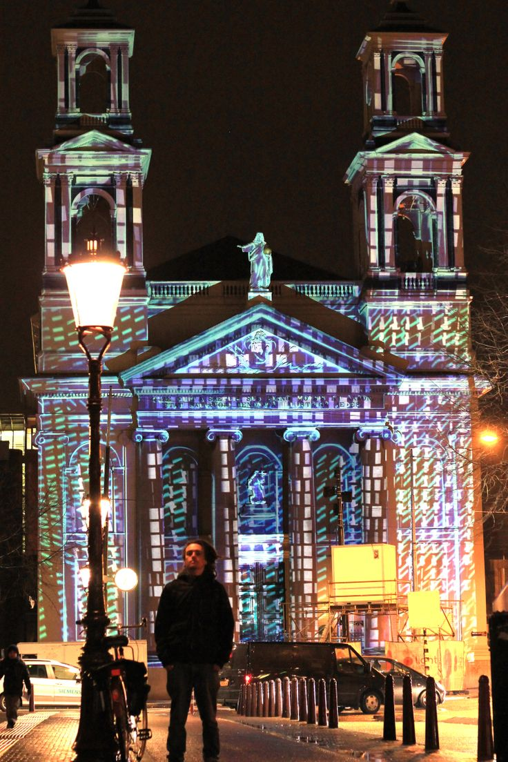 videomapping - Amsterdam Light Festival 2014