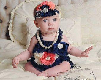 Bebé bebé mameluco niña mameluco niña por OohLaLaDivasandDudes