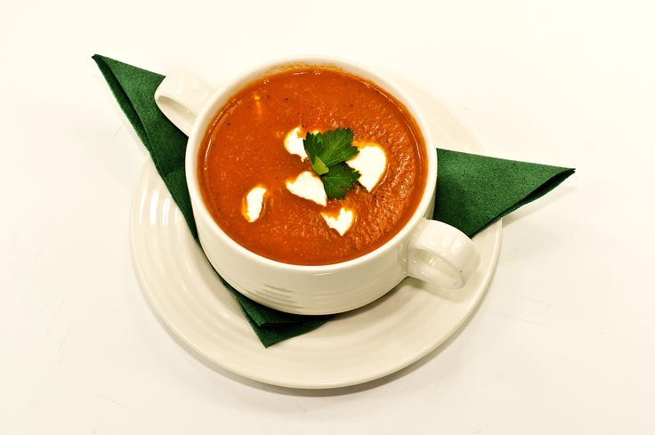 Tomato-orange soup, English cuisine, November