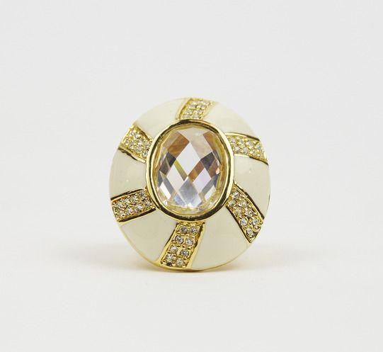 Samantha Wills Gold And White Ring