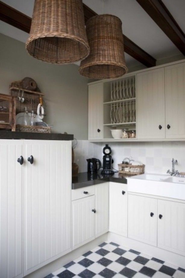 Witte Keuken Beige Vloer : 1000+ images about Kitchen on Pinterest Ramen, Search