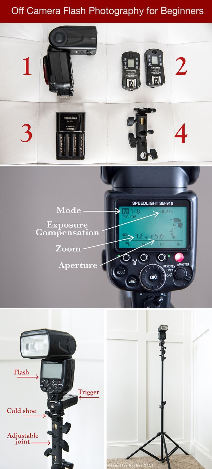 Off Camera Flash Photography for Beginners