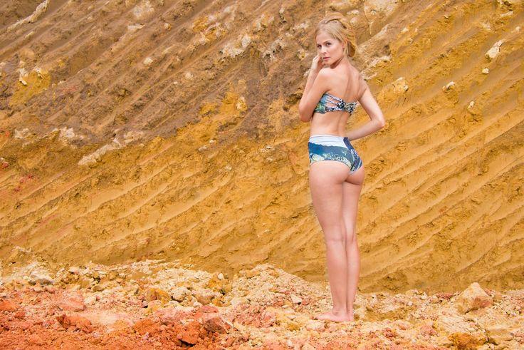 | Woven Backs & Mountain Views | #Entreaguas #LimitedEdition #Swimwear