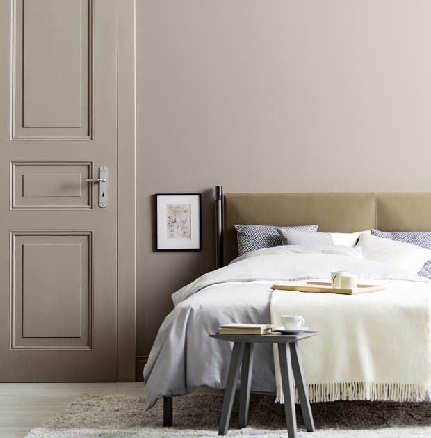 Schlafzimmer Farbgestaltung Wand In 2020 With Images Home Bedroom Home Home Decor