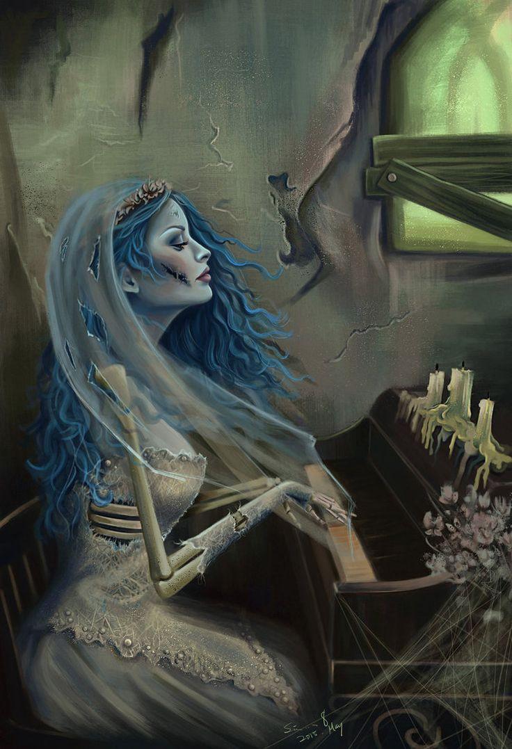 "Goth: #Corpse #Bride ~ Corpse Bride wedding inspiration. ""The Corpse Bride,"" by Sicarius8, at deviantART."