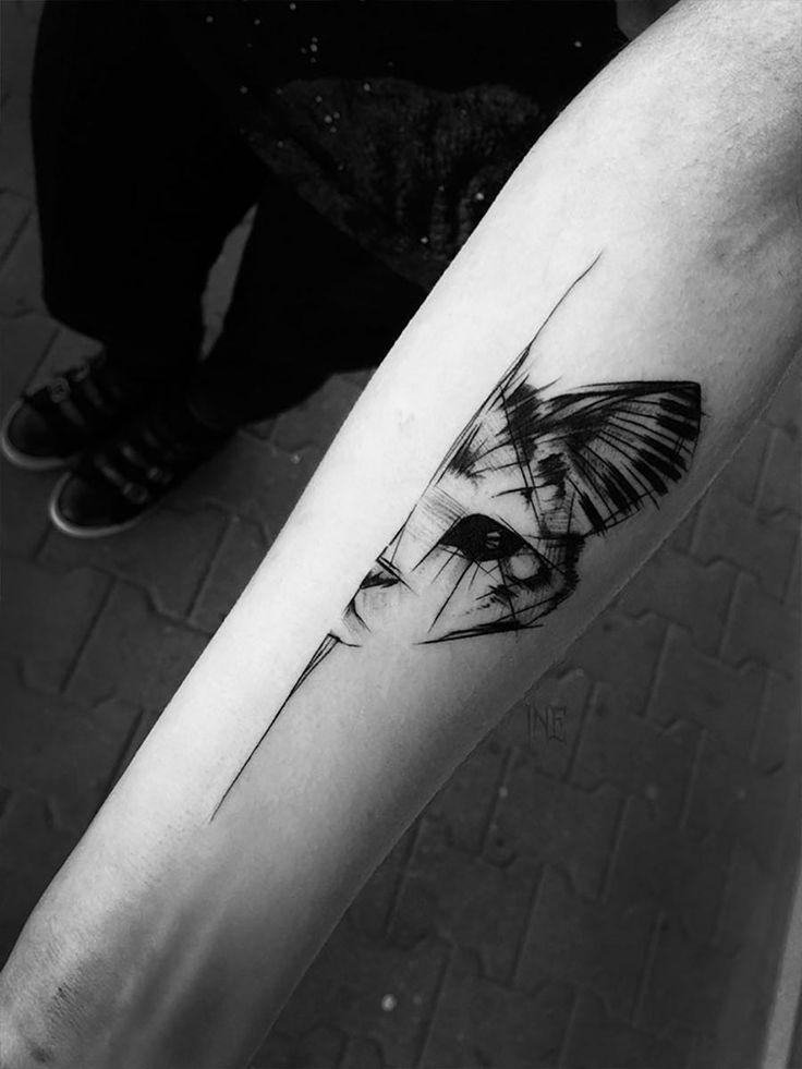 Tolle Skizzen-Tattoos von Inez Janiak Inez-Janiak_08