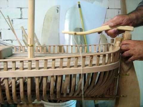 Descrizione di un trabaccolo navigante  in costruzione parte 1a