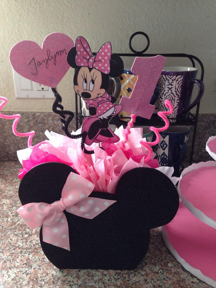 Best 25 Mickey Minnie Centerpieces Ideas On Pinterest Disney Birthday Minnie Mouse And Minie