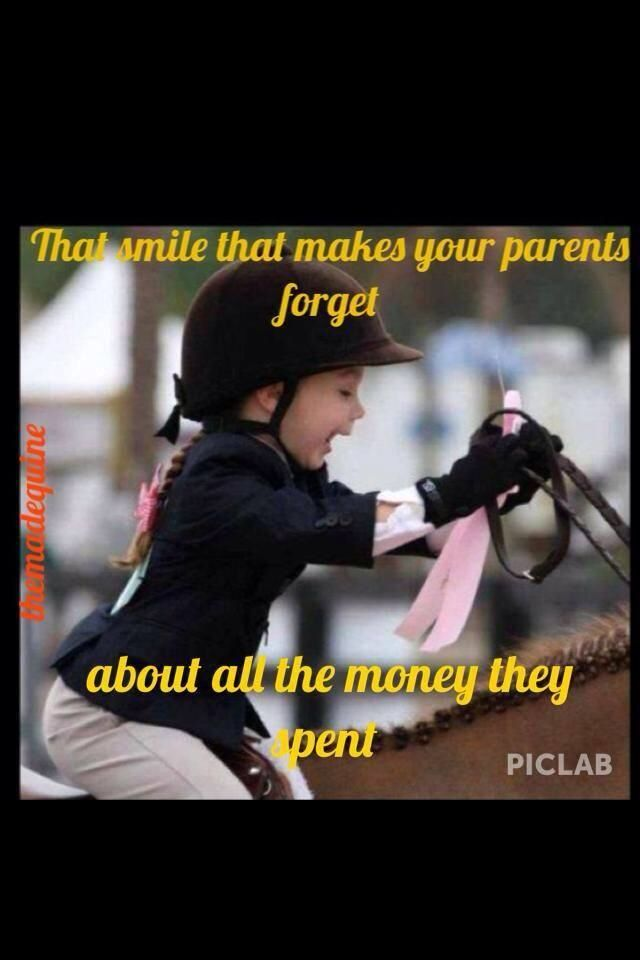 """Yes! She is just So cute and HAPPY!!! Wish I could insert """"husband"""" for parents and it be true.  Doubt my smile or anything else would make him forget all the $ spent."""