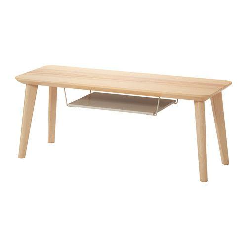 IKEA - LISABO, Moble TV, Un moble de TV de línies senzilles amb una lleixa addicional per posar-hi un receptor de TDT o un reproductor de DVD.El tauler de fullola de freixe i les potes de bedoll massís aporten un toc càlid i acollidor a l'habitació.Como las patas llevan solo un herraje, es muy fácil de montar.El freixe és un material natural molt resistent. Como la superficie ha sido tratada con una capa protectora de barniz, la madera durará aún más y sin perder su aspecto natural.Les…