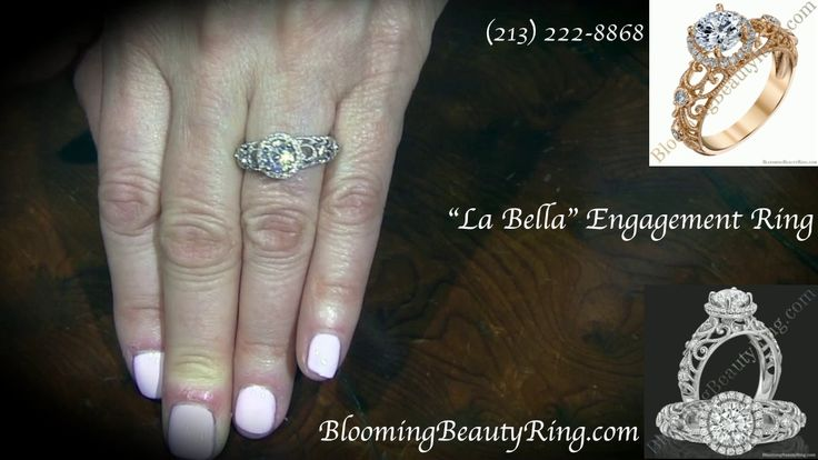 """""""La Bella"""" #EngagementRing by BloomingBeautyRing.com"""