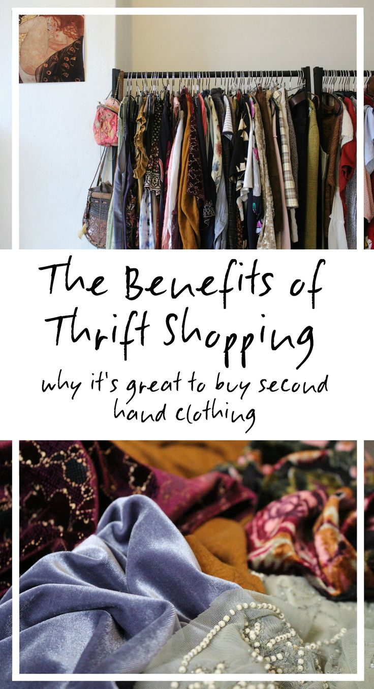 The Benefits of Thrift Shopping - Why It's Great To Buy Second Hand Clothing article: http://www.charlieandkaffy.com/2016/11/25/the-benefits-of-thrift-shopping/