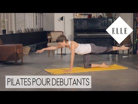Pilates : notre cours débutants┃ELLE Pilates - YouTube